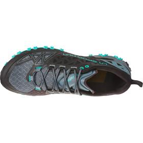 La Sportiva Bushido II Zapatillas running Mujer, negro/Turquesa